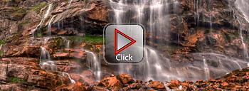 Bridal Veil Falls - Provo Canyon - Utah 360 degree panorama