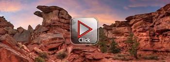 Capitol Reef National Park - Moenkopi Sandstone- Utah 360 degree panorama