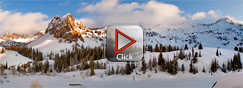 Lake Blanche and Sundial Peak - Utah 360 degree panorama