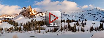 Lake Blanche and Sundial Peak - Utah 360 degree panorama