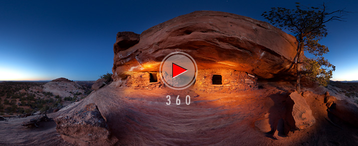 Canyonlands National Park - Anasazi Granaries
