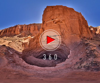 Gypsum Sinkhole in Capitol Reef National Park