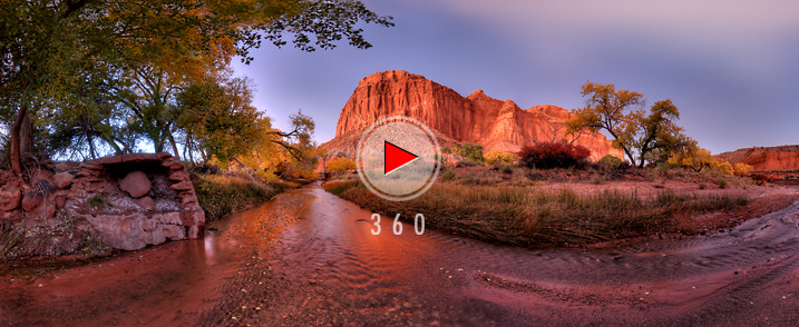 Capitol Reef National Park-Sulphur Creek