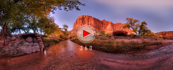 Capitol Reef National Park Utah Travel 3d Panoramas